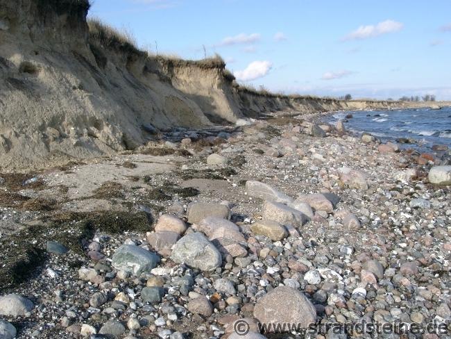 Steilküste der Ostsee